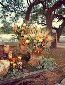 Decoracion_otoño_exterior_flores_ ideas_originales_ Just Married Market