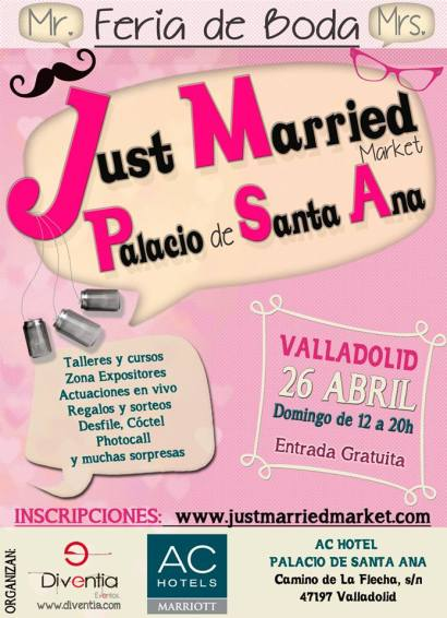 Just Married Market Palacio de Santa Ana