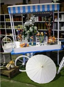 decoracion floral_ceremonia_bodas_candy_bar_Poveda_plantas_Just Married Market