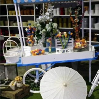 decoracion floral_ceremonia_bodas_candy_bar_Poveda_plantas_Just Married Market