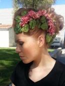 Peinado y tocado_Esther Vega Estlistas