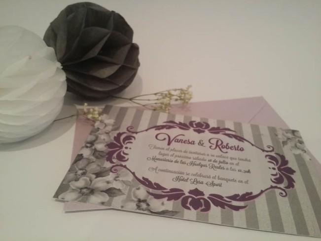 Invitaciones de boda únicas