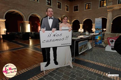 Just Married Market Palacio de Sta Ana_ (2)