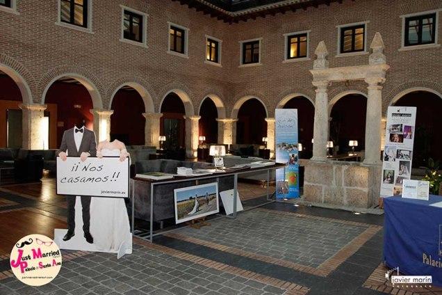 Just Married Market Palacio de Sta Ana_
