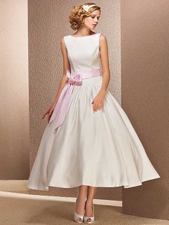 Vestido de Boda_Moderno y Chic_Corte Evasé_lightinthebox