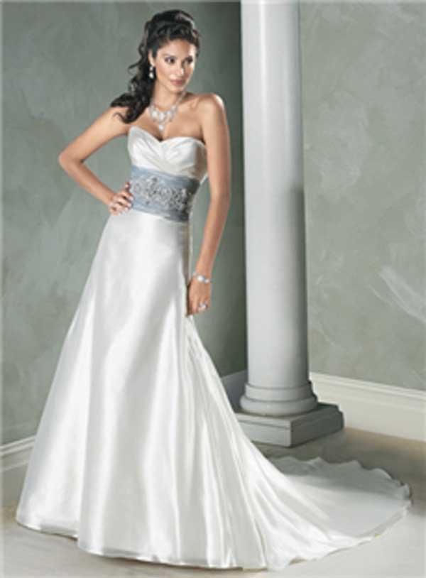 Significado del color blanco en vestido de novia