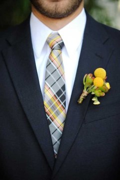 corbata a cuadros para el novio_weddbook.