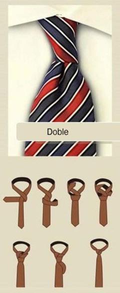 Nudo de corbata dobre _ por gentleman21