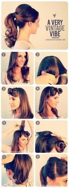 Peinado de novia_fácil_bonito_coleta