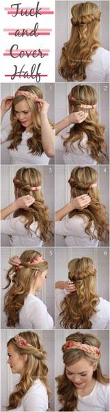 Peinado de novia_fácil_bonito_por buzzfeed