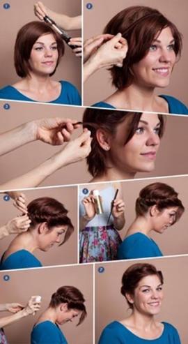 Peinado de novia_cabello corto