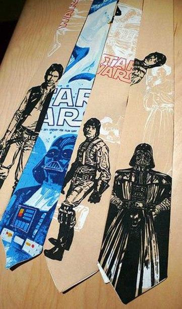 Star Wars ties_craziestgadgets_corbatas