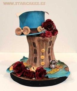 Tarta de boda_Sobrerero loco