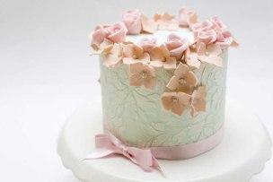 Tarta de boda_flores de Dulces Creaciones