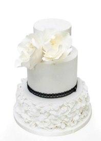 Pastel de boda de Dulces Creaciones