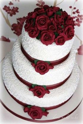 Tarta de boda_romántica