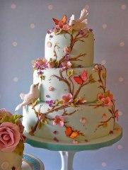 Tarta de boda_romántica:vintage