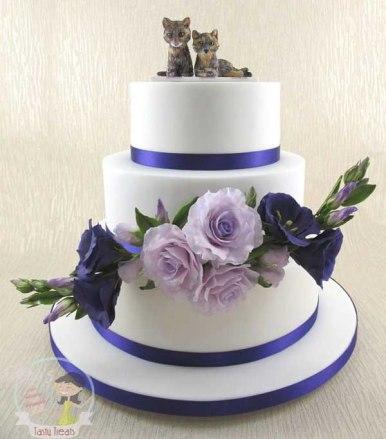 Pastel de boda_gatitos