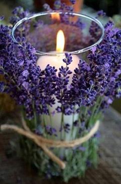Velas y flores_bodas
