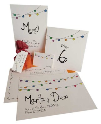 bodegongirnalda_invitaciones de boda_blondas de papel_Just Married Market