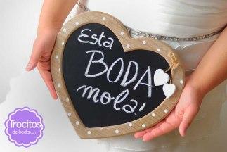 Pizarra Corazón_trocitos de boda_detalles_regalos_Just Married Market