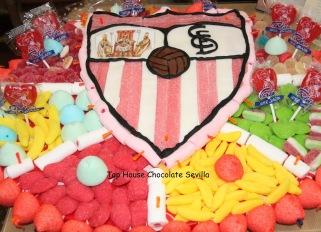 Resultado de imagen de tarta chucherias escudo