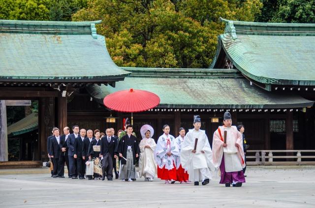 Resultado de imagen de boda sintoísta