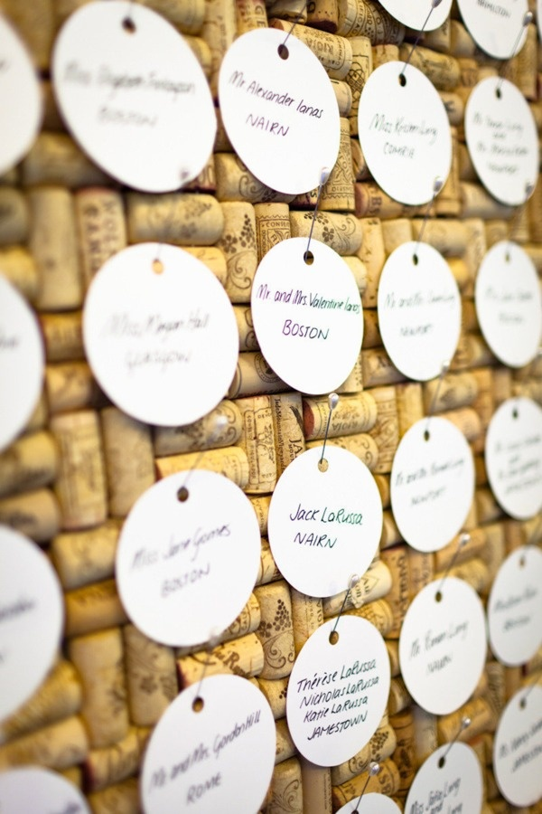 Must Do Monday - Wine Corks Seating Chart — The Perfect Details